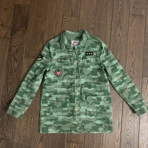 Justice Camouflage Jacket